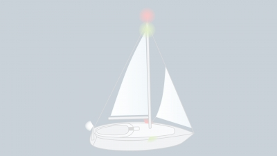 Sound signals of a sailing vessel in restricted visibility